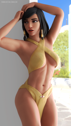 Pharah pinup by pharah-best-girl