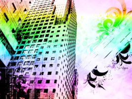 Colorfull Buildings by Eladiko