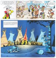 Lucky Luke Parodies Asterix by CCB-18