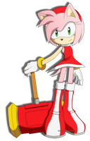 Amy Rose by BloomPhantom