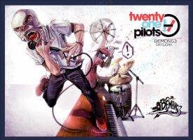Twenty one pilots by DemonG3