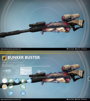 Bunker Buster: Sniper Concept by Executor Hideous by DestinyWarlock