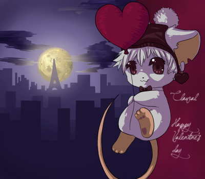 mouse of clawal by Kitsumy-chan