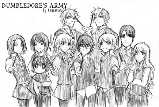 HP+Dumbledore.s army by xanseviera