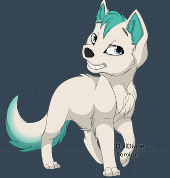 Ronin as a puppy by xXRoninsloverXx