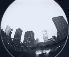 Toronto Fisheye by iamthelorax311