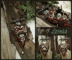 Eye of Lamia by LuthienThye