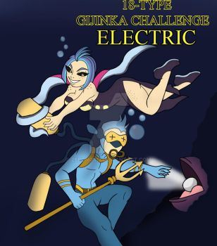 18-Type Gijinka Challenge: Electric by Zeronos12