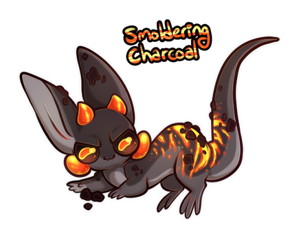 Symphomies Advent :: Smoldering Charcoal [CLOSED] by NoyiiArts