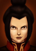 Azula by FlameFireheart