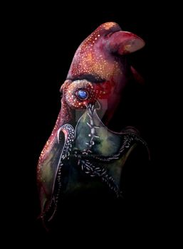 The Vampire Squid From Hell by bigredsharks