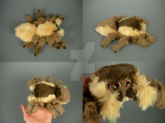 Mini Jumping Spider Plushie by WhittyKitty