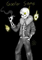 Gaster!Sans Has Some Swag by Sarana-Kaname
