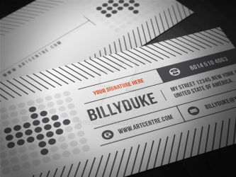 Business Card Design 2 by FBAstudio