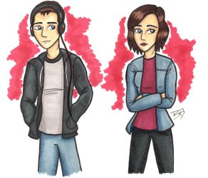 Clay And Hannah by britteneee