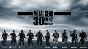 Metal Gear Solid 30th Anniversary Wallpaper 7 by GeorgeSears1972