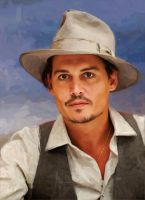Johnny Depp by AndyTkach