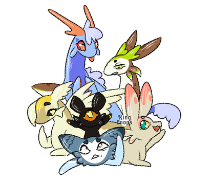 Snyail Pile! by King-Coops