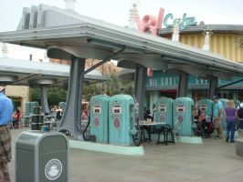 There's Flo's V8 Cafe and humans are welcomed here by Magic-Kristina-KW