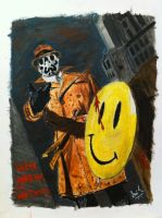 Rorschach Acrylic by ms24khan