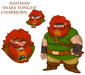 LM: NASTHAN Snake Tongue CHARBJORN by Dettan-arts