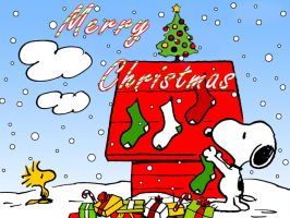 Snoopy Christmas by NicoleWilliam
