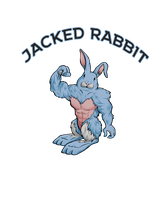 Jacked Rabbit Workout Shirt Design by GoldenYak9753