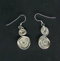 Spiral earings by Attackfish