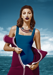 beaches colorization by steve--rogers
