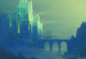 green castle by snaku6763