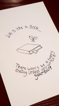 Life Is Like A Book... by Azlissian