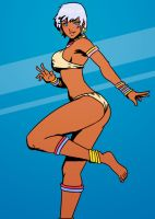 Elena from Street Fighter by SoDrawnOut