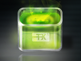 Toxic app icon by OtherPlanet