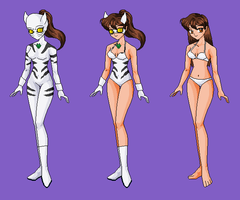 White Tiger-  Wreck-It Ralph RP Fantasy outfits by Dinalfos5