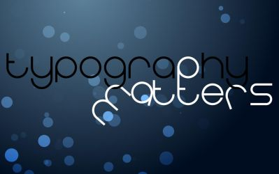 Typography Matters v2 by 42nt1
