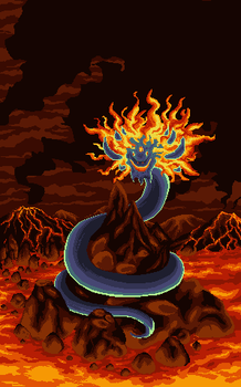Magma Serpent by MLAproduction