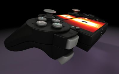 PS 4 Controller by Artificialproduction