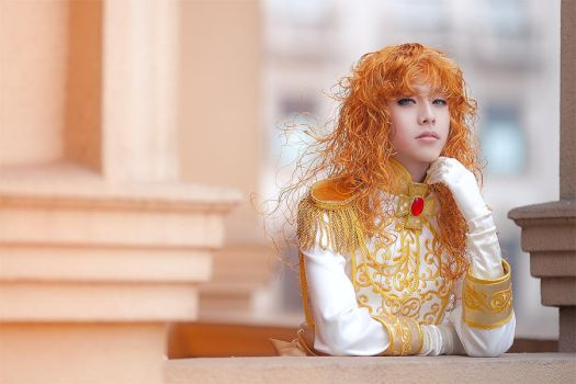 Lady Oscar Rose of Versailles by kirawinter