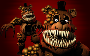 Twisted Freddy (C4d Download) (Blender and SFM!) by 3D-Darlin