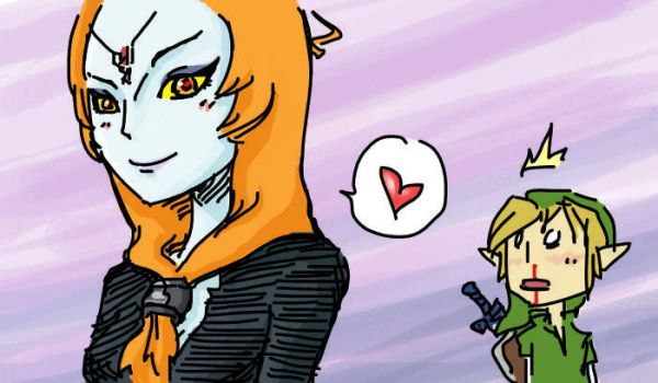 Heart Midna - Blood Loss by EggyComics