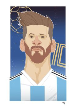 Lionel Messi by DenisM79