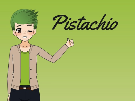 Pistachio (Contest Entry) by PikachuPuddingXD