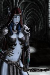 Chelsea as Sylvanas from Wow by MauricioEiji