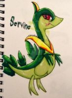 Servine drawing by xxmidnight12xx