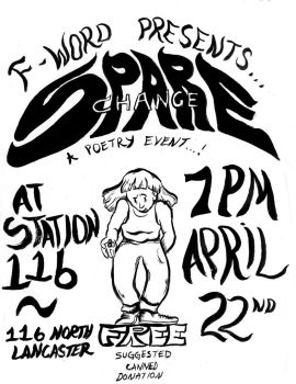 Spare Change - Flier by ungoth