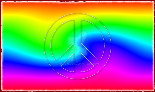 Pride or Hippy Background for Streaming by MaddysDen