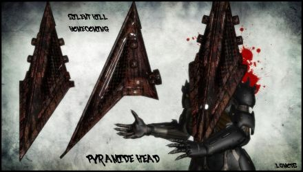 [MMD DL] Silent Hill Homecoming : Pyramid Head by LGMODS
