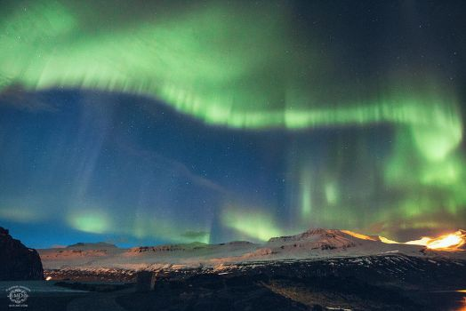 Northern Lights in Iceland by MD-Arts