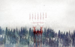 December 2010 Calendar by kriegs