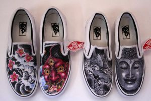 customized slip ons by graynd